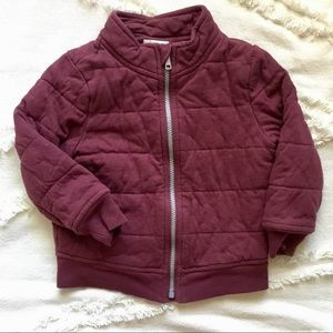 Old Navy Quilted Bomber Jacket - 3T